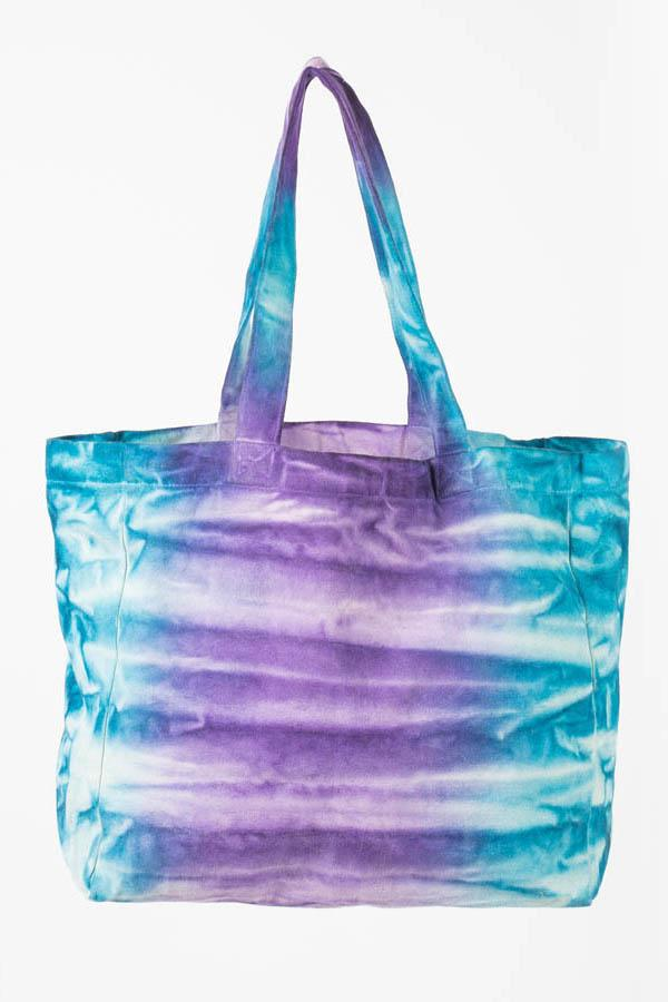 Tribal Tie-Dye Beachy Tote Bag