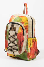 Hemp Blend Tie-Dye Buddies Backpack