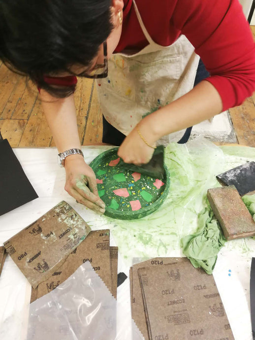 Jesmonite Casting Class with Katie Gillies