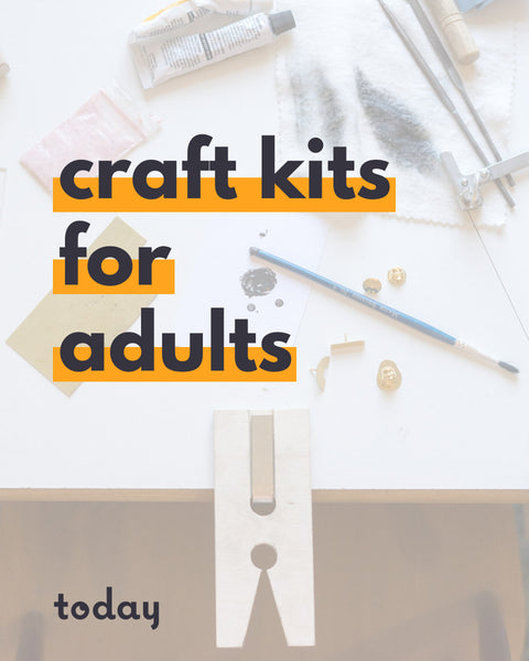 The best craft kits for adults by Today Studio