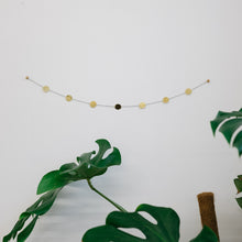 Load image into Gallery viewer, Circle garland made with wall hanging kit by Today