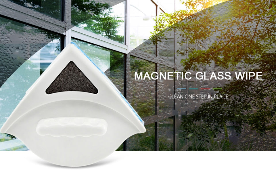 Magnetic Glass Wipe