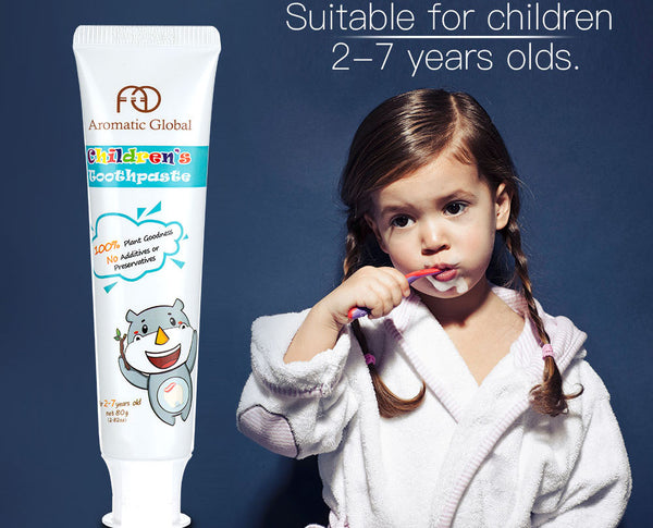 "Aromatic Global Children Toothpaste - ""Best Plant Based Toothpaste for Children"""