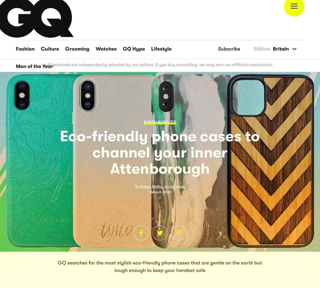 Eco Friendly Phone Cases That Are Getting Noticed and are Making a Difference | Loam & Lore