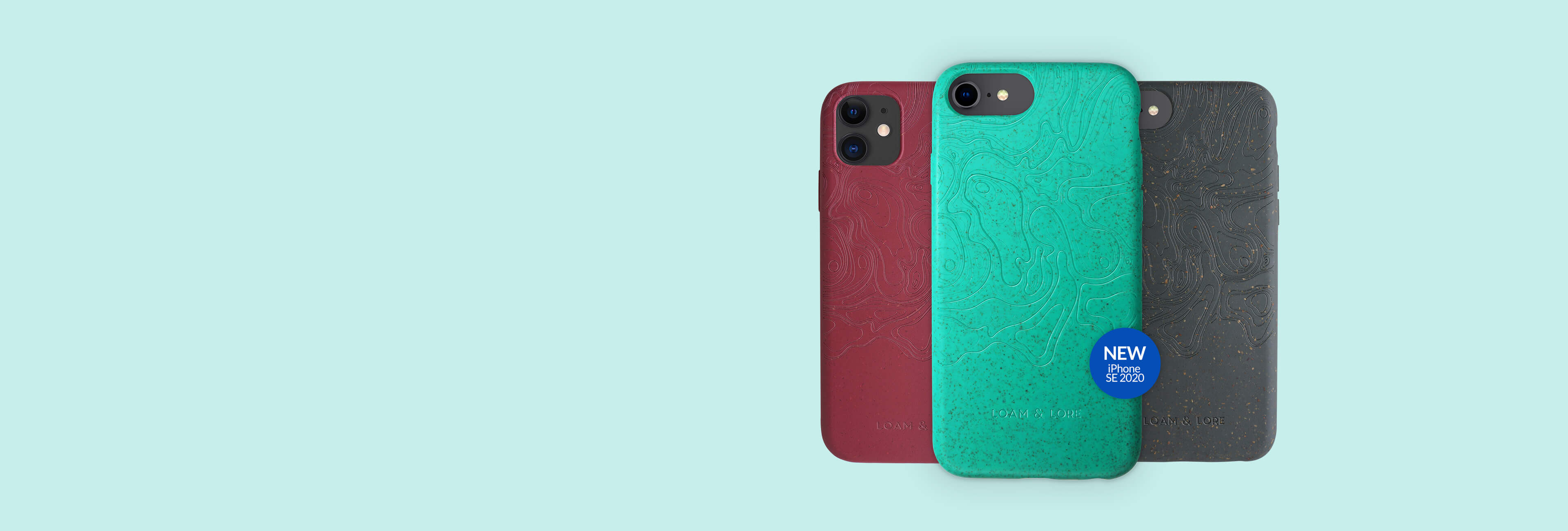 Compostable iphone cases from Loam & Lore
