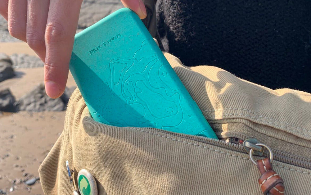Engraved phone case designed with an Amazon rainforest topographic map