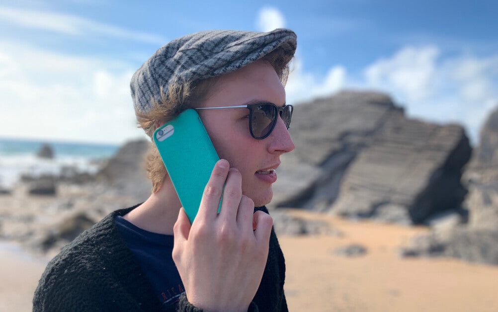 natural phone case with good grip