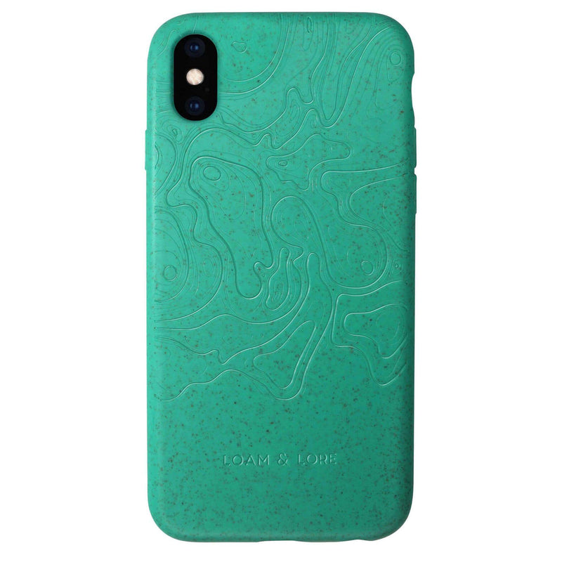 Eco Friendly iPhone XS Max Case Compostable & Biodegradable - Loam & Lore