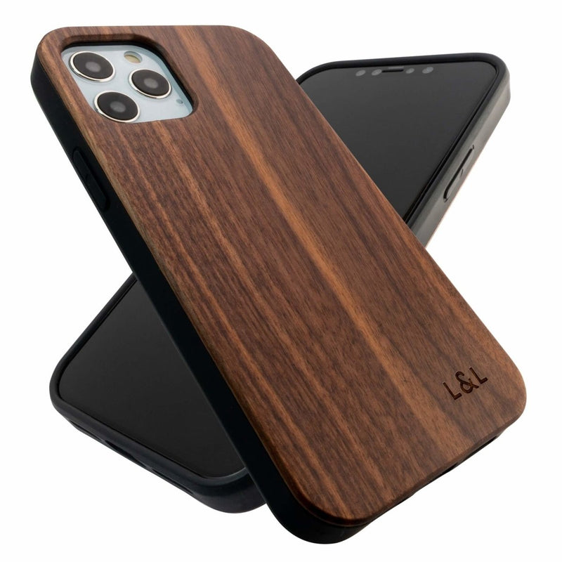 Walnut iPhone 12 Case with Eco-Friendly Shell - Loam & Lore