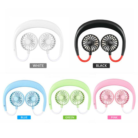 Mini Hands-free Dual Air Fan