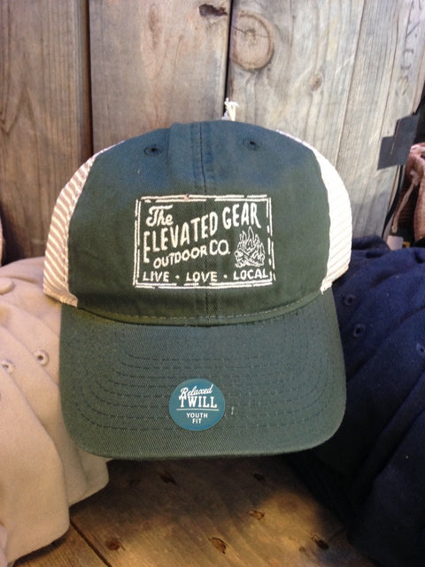 Elevated Gear | Youth Cap | Hunter Green