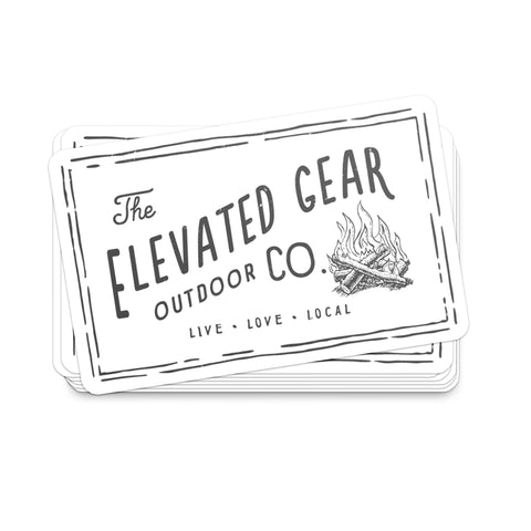 Elevated Gear | Large Sticker