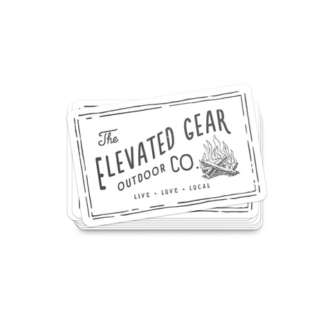 Elevated Gear | Small Sticker