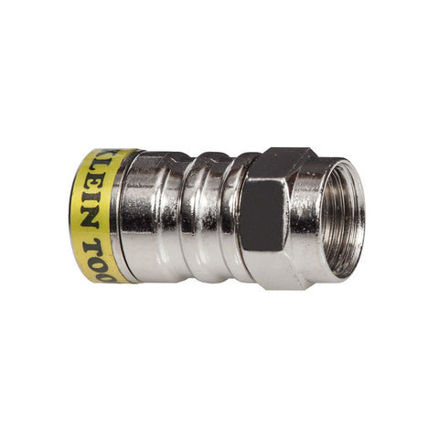 Klein|Push-On F Connectors RG6/6Q 10-Pack