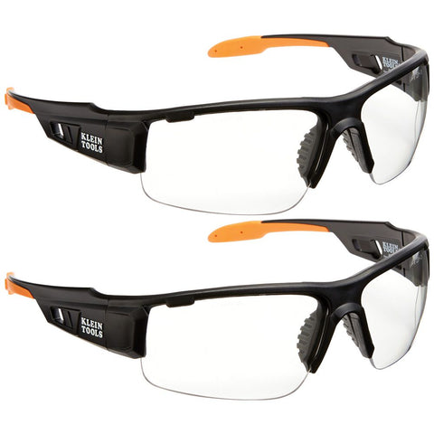 Klein|PRO Safety Glasses|Wide Lens|2-Pack