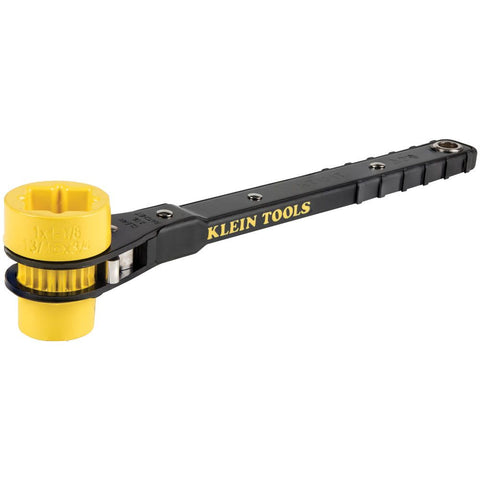 Klein|4-in-1 Lineman's Ratcheting Wrenches
