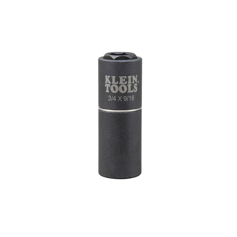 Klein|2-in-1 Impact Socket|6-Point|3/4 and 9/16-Inch