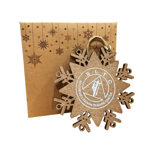 SLTC|Snowflake Christmas Ornament