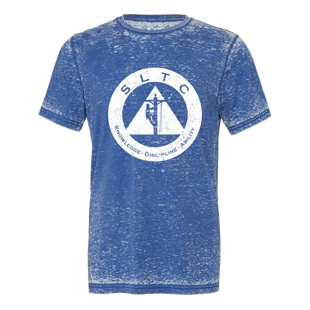 SLTC Unisex Distressed Seal Logo