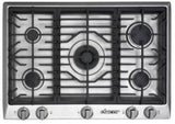 "Dacor Distinctive 30"" Gas Cooktop with 5 Sealed Burners Stainless DCT305SNG - ALSurplus AL"