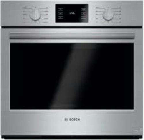 "Bosch 500 30"" 11 Mode 4.6 cu ft European Convection Electric Wall Oven HBL5451UC - ALSurplus AL"