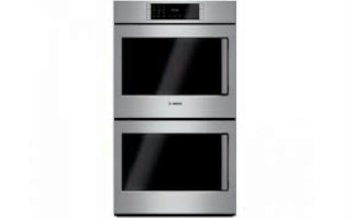 "Bosch Benchmark Series 30"" Self-Clean Double Electric Wall Oven HBLP651LUC Image - ALSurplus AL"