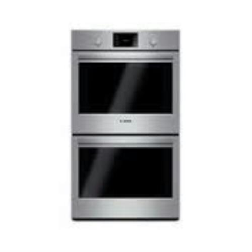 "Bosch 500 30"" EcoClean Double Electric Thermal cooking SS Wall Oven HBL5551UC - ALSurplus AL"