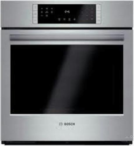 "Bosch 27"" Convection Single Electric Wall Oven HBN8451UC SelfClean Perfect Front - ALSurplus AL"
