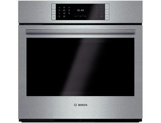 "Bosch Benchmark 30"" 14 Cooking Modes SS Single Electric Wall Oven HBLP451UC - ALSurplus AL"