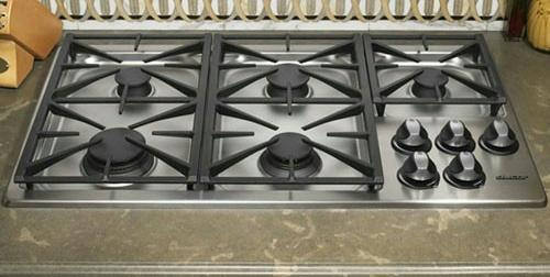 "Dacor Renaissance 36"" 5 Sealed Burners Liquid Propane Gas Cooktop RGC365SLP"