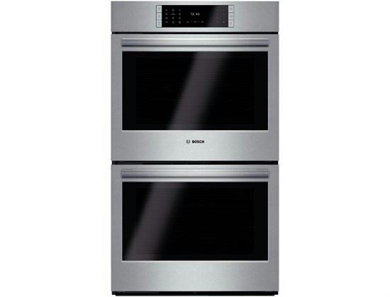 "Bosch Benchmark 30"" 4.6 cuft 14 Modes Double Electric Wall Oven HBLP651UC Images - ALSurplus AL"