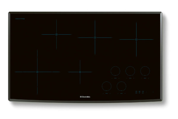 "Electrolux 36"" Induction Cooktop with 5 Cooking Zones EW36IC60LS Images - ALSurplus AL"