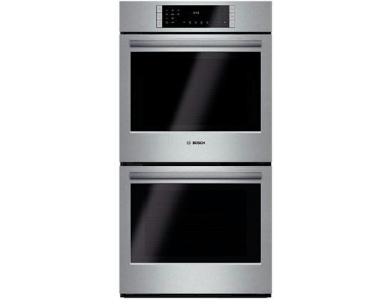 "Bosch 800 Series 27"" Double Electric Wall Oven HBN8651UC Full Warranty - ALSurplus AL"