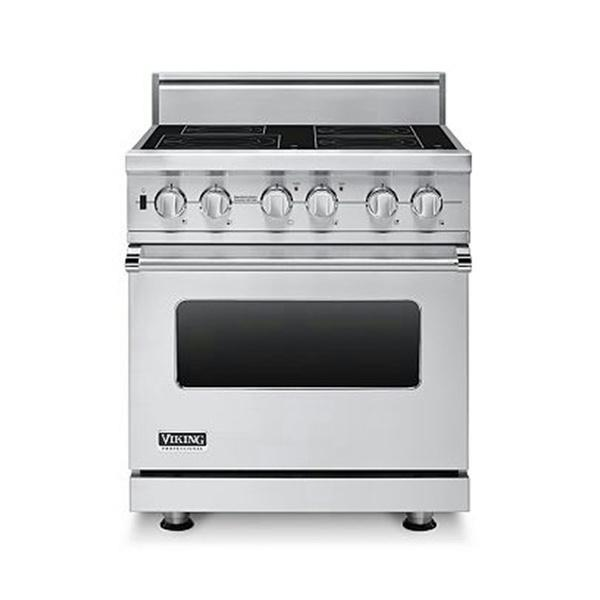 "Viking Professional Series 30"" Stainless Pro-Style Induction Range VISC5304BSS"