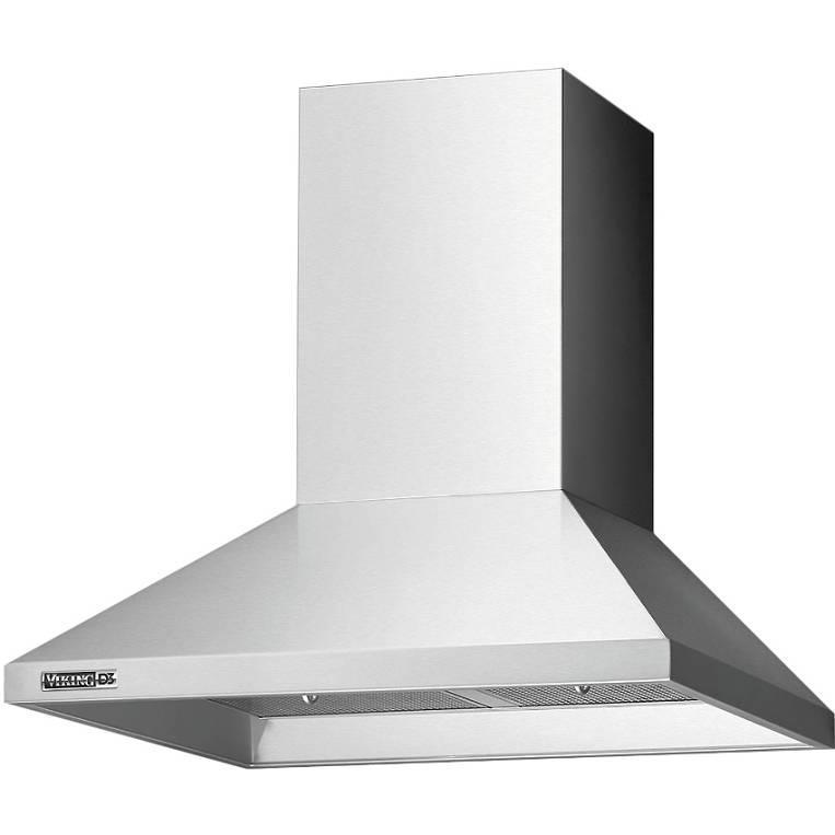 "Viking D3 Series 36"" Stainless Wall Mount Chimney Range Hood RDWHC3644SS - ALSurplus AL"