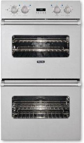 "Viking Professional Premiere 30"" Double Electric Convection Oven VEDO5302SS IMGS - ALSurplus AL"