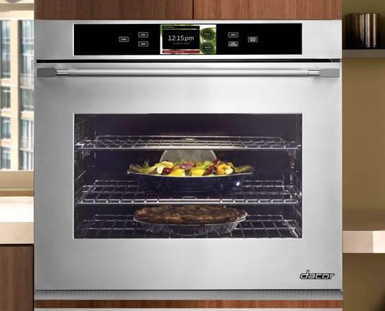 "Dacor Discovery iQ 30"" Pure Convection Single SS Electric Wall Oven DYO130S - ALSurplus AL"
