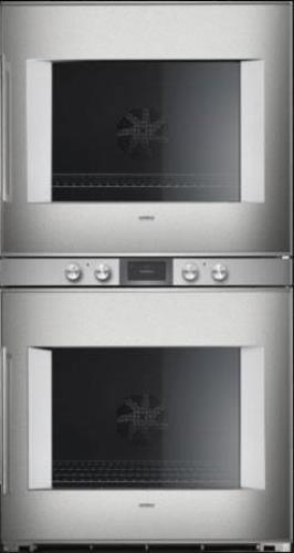 "Gaggenau 400 Series 30"" 4.5 cu. ft Convection Double Electric Wall Oven BX480611 - ALSurplus AL"