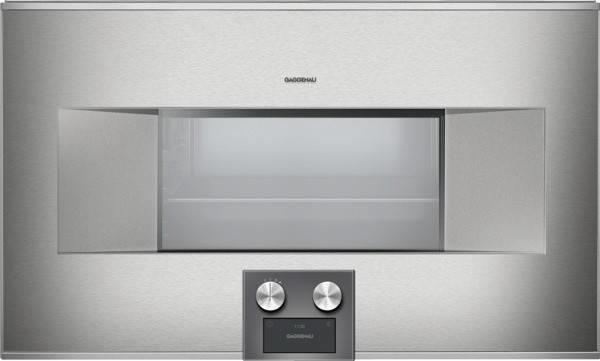 "Gaggenau 400 Series 30"" SS 15 Modes 1.7 Convection Combi-Steam Oven BS485611 - ALSurplus AL"
