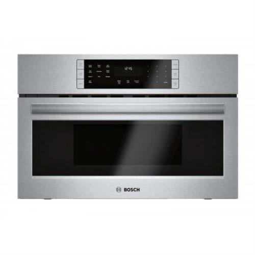 "Bosch 800 30"" SS 2-in-1 1.6 Cu. ft Built-In Covenction Microwave Oven HMC80252UC - ALSurplus AL"