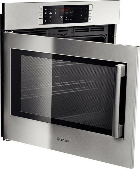 "Bosch Benchmark Series 30"" 14 Cooking Modes Single Electric Wall Oven HBLP451LUC - ALSurplus AL"