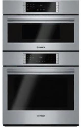 "Bosch 800 Series 30"" 10 Cooking Program Microwave Combination Oven HBL87M52UC IM - ALSurplus AL"