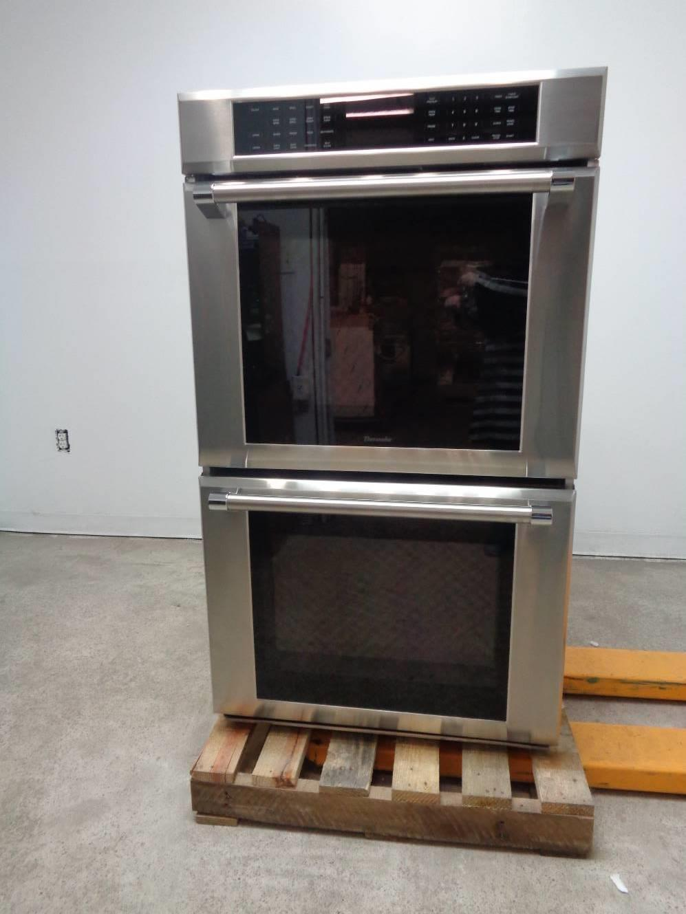 "Thermador Masterpiece 30"" 4.7 Convection Double Electric Wall Oven MED302JP - ALSurplus AL"
