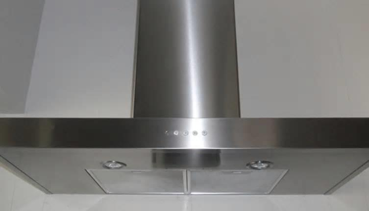 "Faber Decorative Collection GEMM30SS 30"" 600 CFM Blower Wall-Mount Chimney Hood - ALSurplus AL"