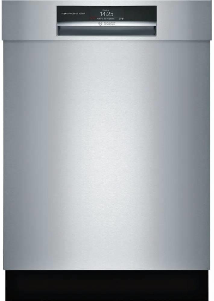 Bosch 800 Series 24 in 42 dBA Home Connect Semi-Integrated Dishwasher SHEM78WH5N - ALSurplus AL