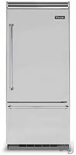 "Viking Professional 5 Series 36"" 20.4 cu. ft. Capacity Refrigerator VCBB5363ERSS"