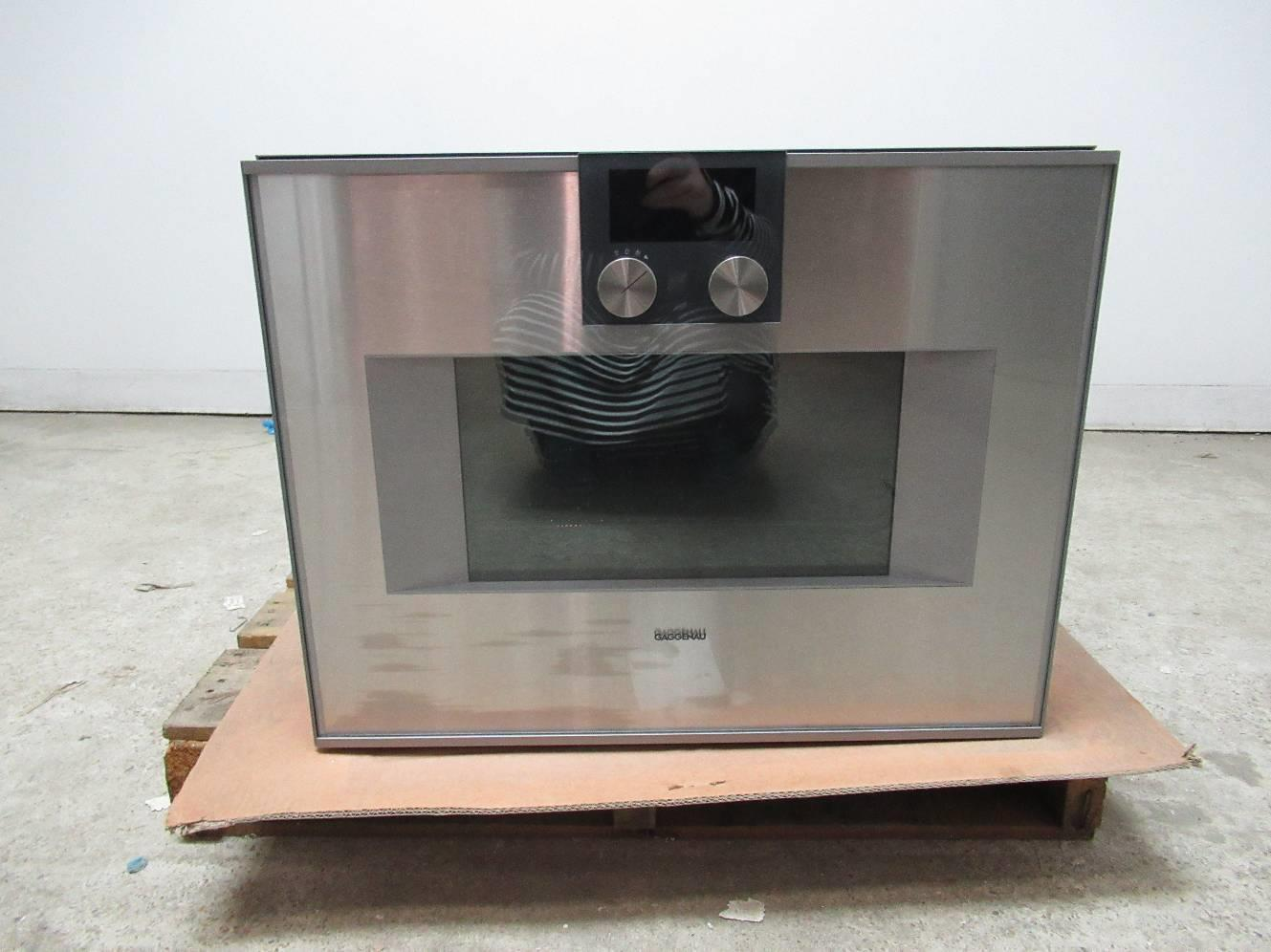 "Gaggenau 400 series 24"" TFT touch display Combi-microwave oven BM450110 - ALSurplus AL"