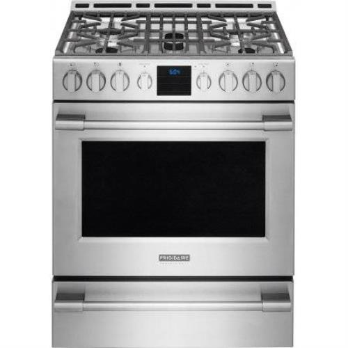 "Frigidaire Professional 30"" Stainless Steel Freestanding Gas Range FPGH3077RF - ALSurplus AL"