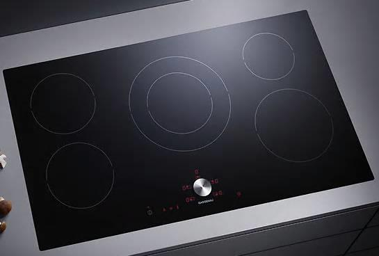 "NIB Gaggenau Thermador 36"" Twist-Pad 5 Cooking Zones Induction Cooktop CI491602 - ALSurplus AL"