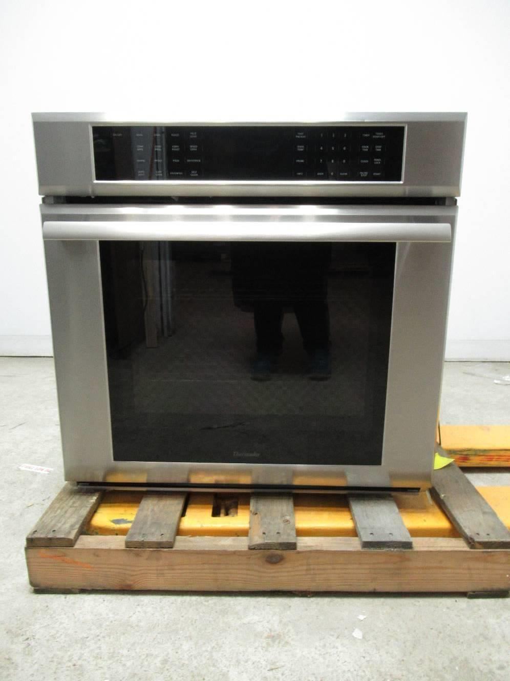 "Thermador Masterpiece 30"" SS True Convection Single Electric Wall Oven ME301JS - ALSurplus AL"